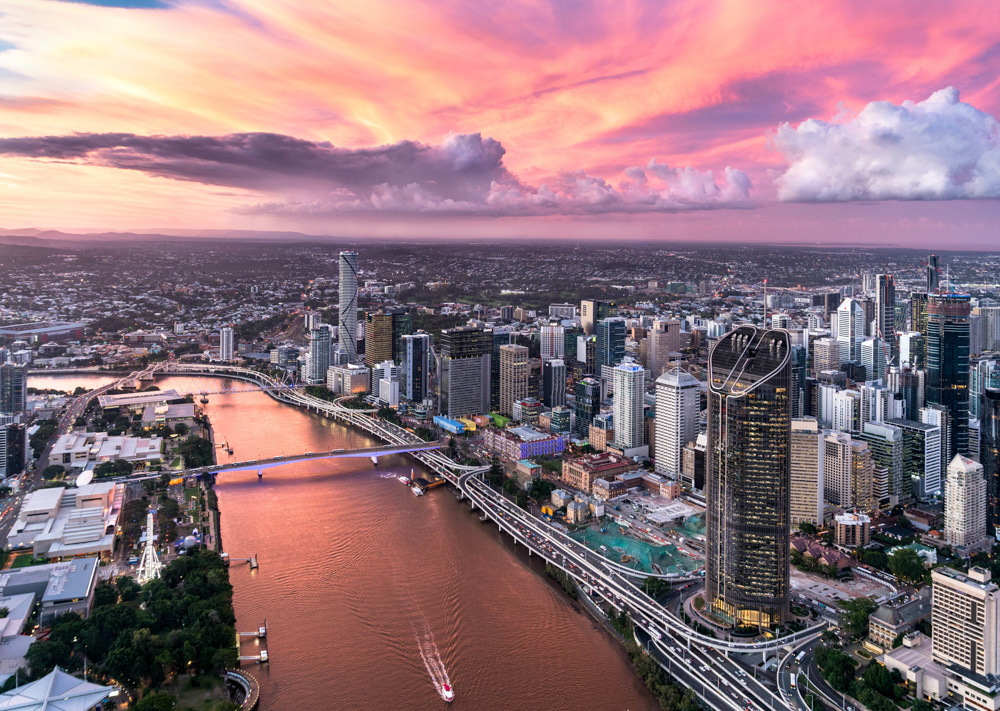 Plan For a Brisbane Sunset Helicopter Ride on the Weekend!